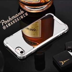Accessories - Luxury Silver Mirrored iPhone Cases